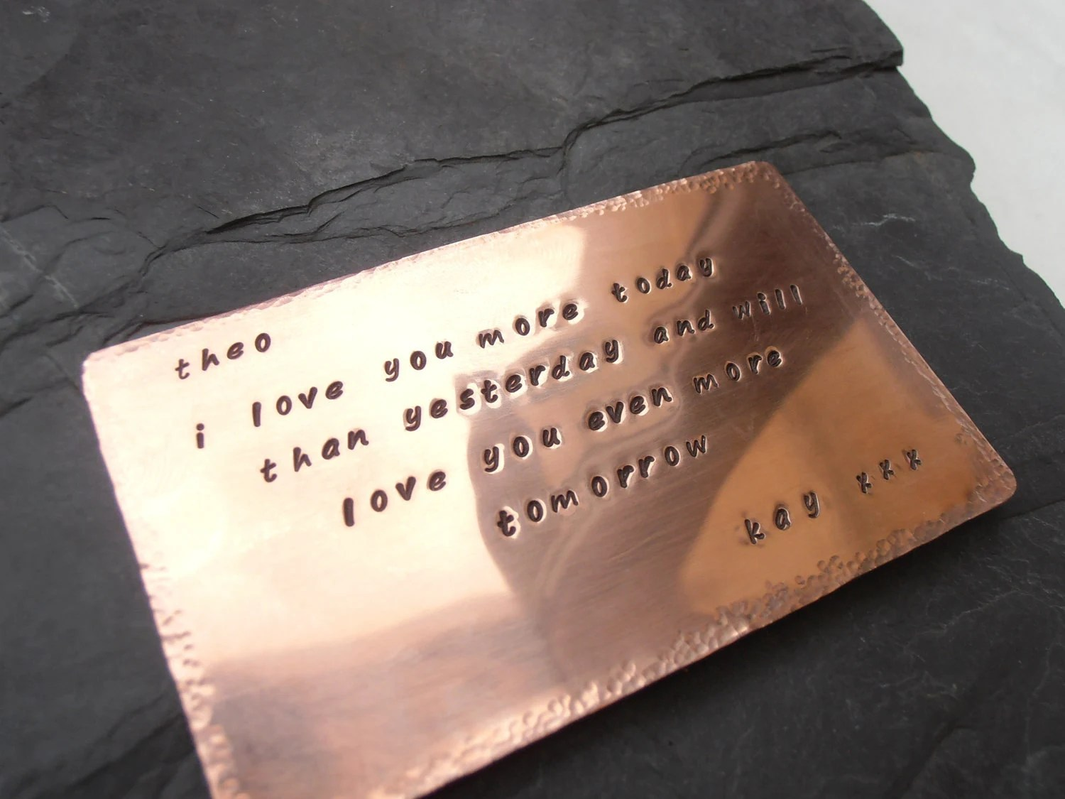 Items Similar To 7th Wedding Anniversary Gift Copper Or
