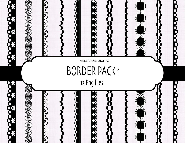 Diigital Border Digital Ribbon Clip Art Clip Art Border In