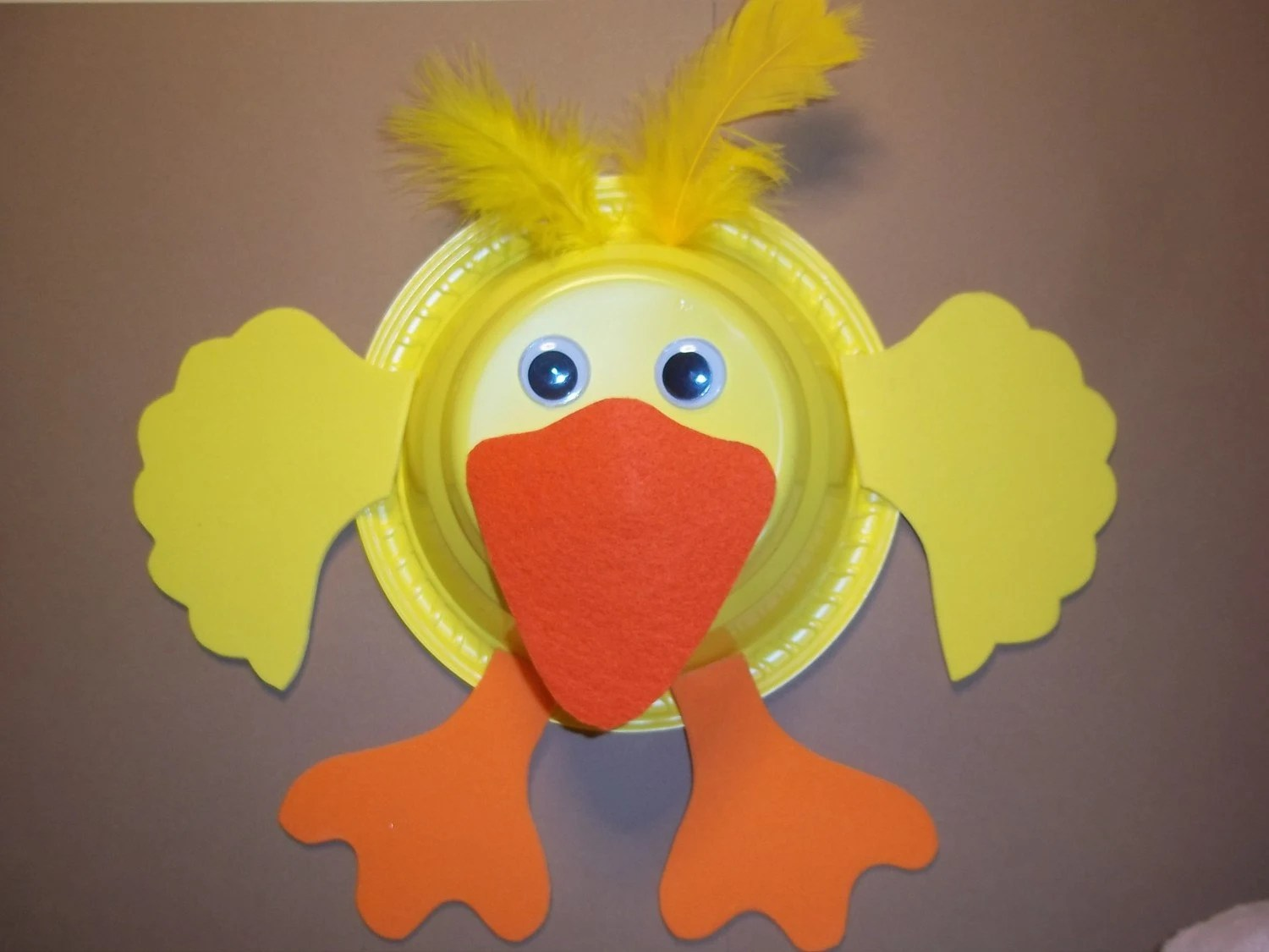 D Is For Duck Craft
