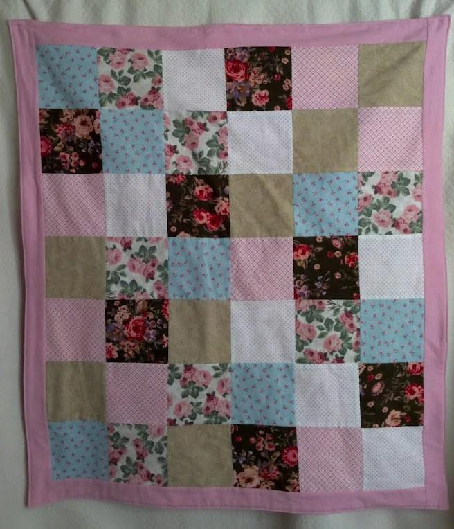 Patchwork Shabby Chic Blanket