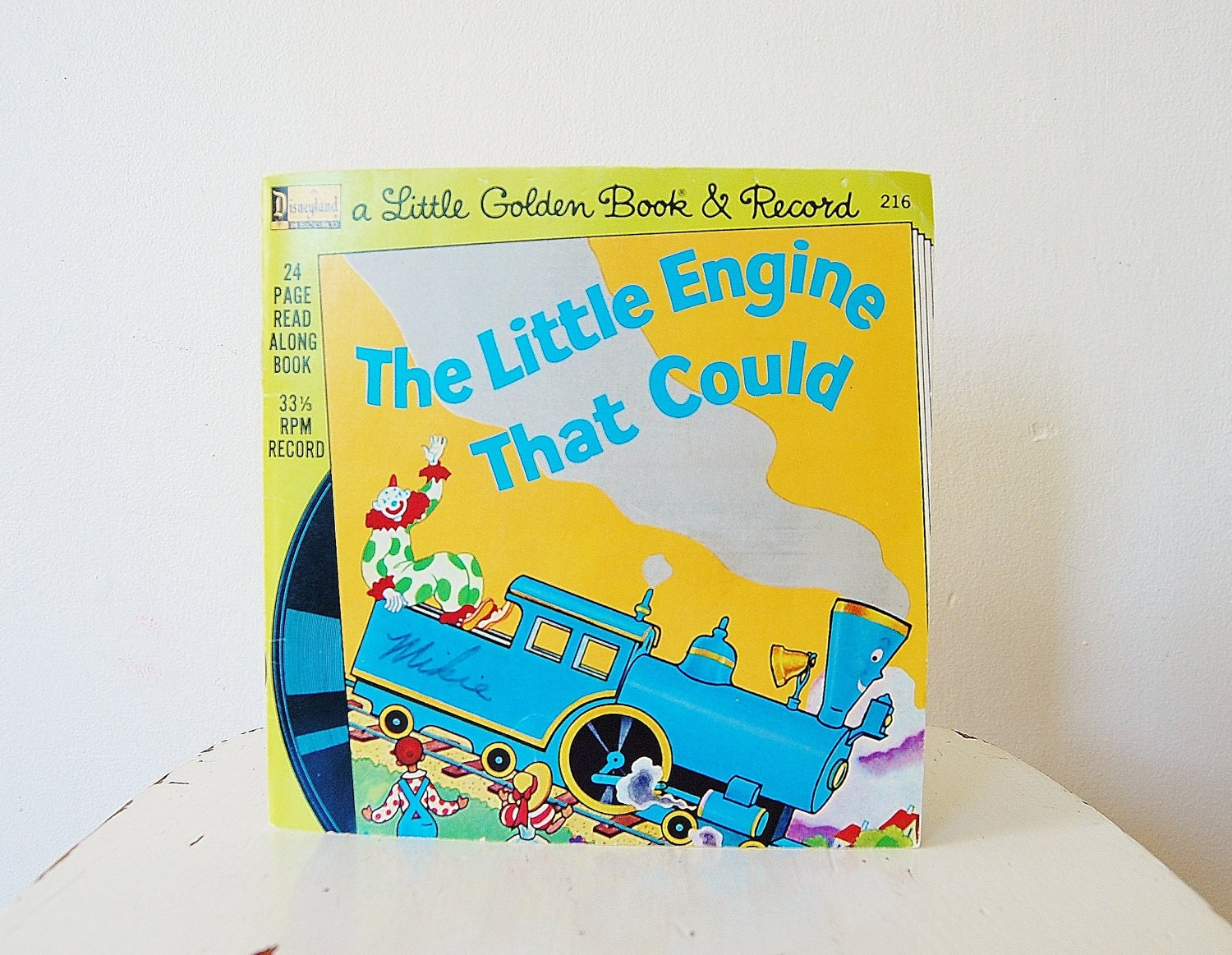 The Little Engine That Could Book And Record