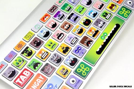 Little Monsters Macbook Klavye Cilt