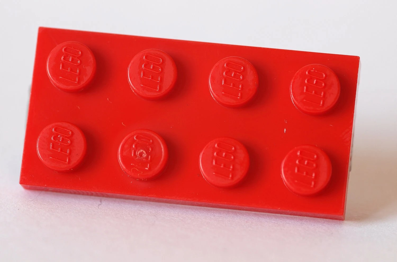 Items Similar To Red LEGO 4x2 Plate Hair Clip On Etsy