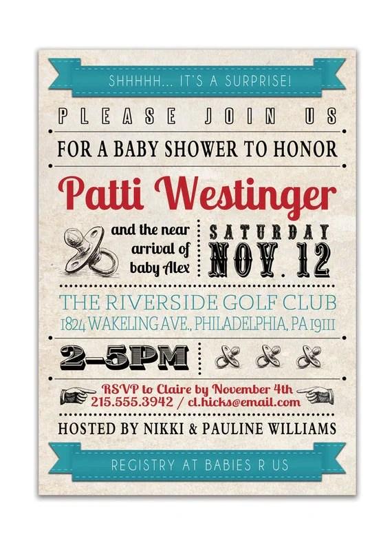 Steam punk baby shower