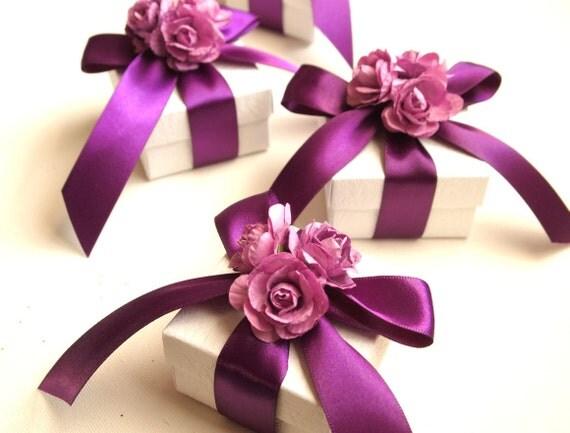 Items Similar To Wedding Favors Purple Fuchsia Pink