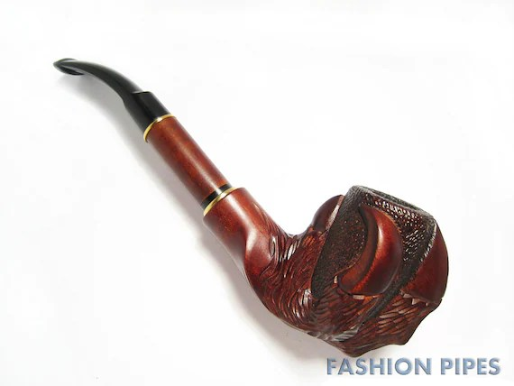 Wow UNIQUE Long Wooden Pipe-Tobacco Pipe-Smoking Pipe/pipes