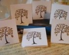 Fall foliage tree notecards