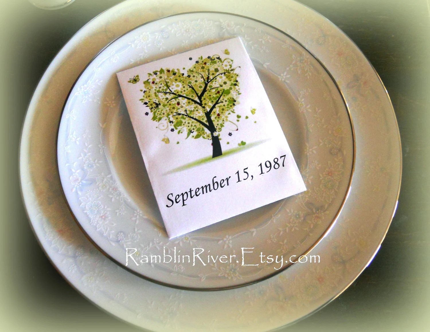 Flower Seed Wedding Favors Includes Seed