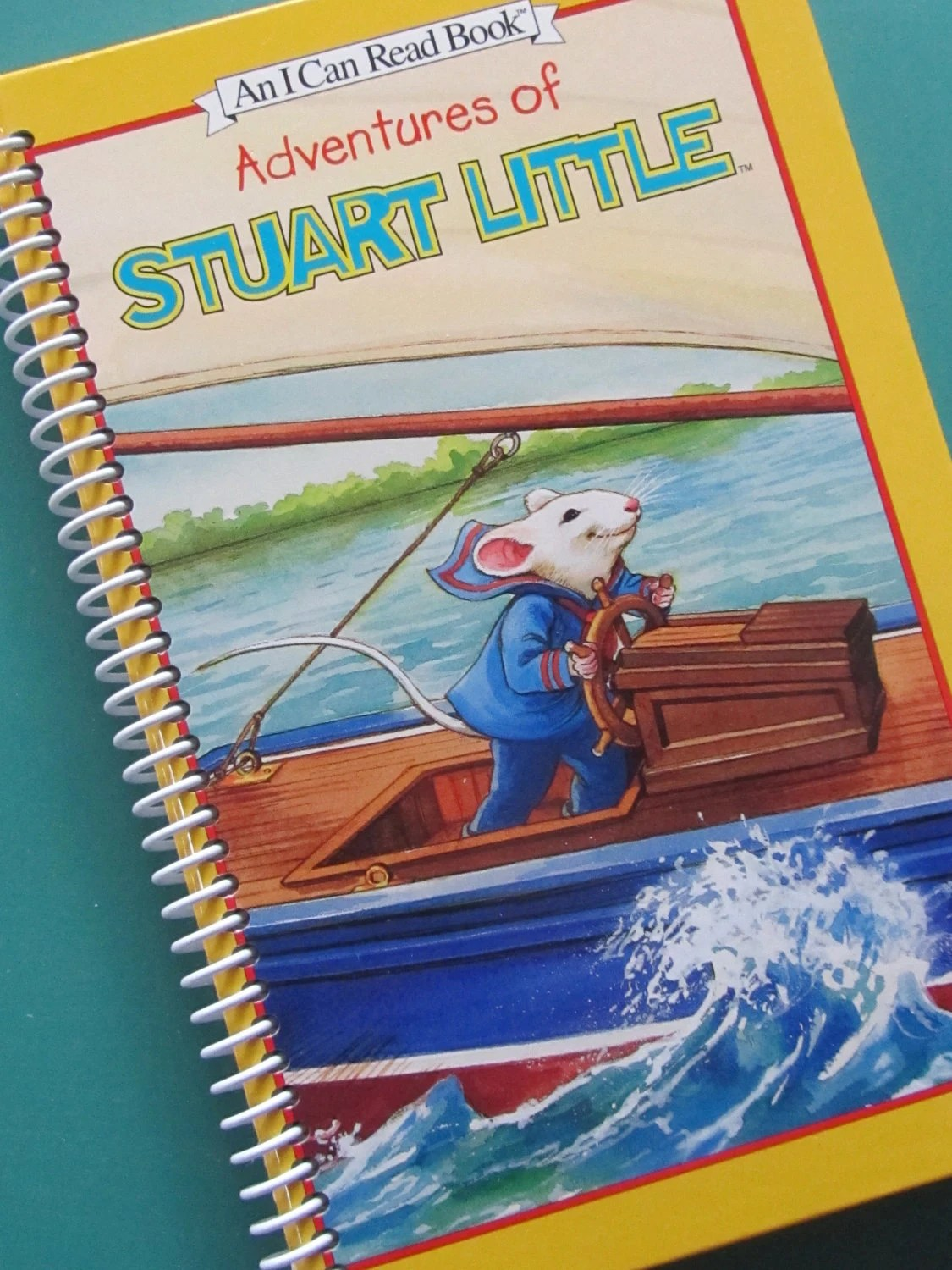 Stuart Little Book Journal Notebook By Portelizabethvillage