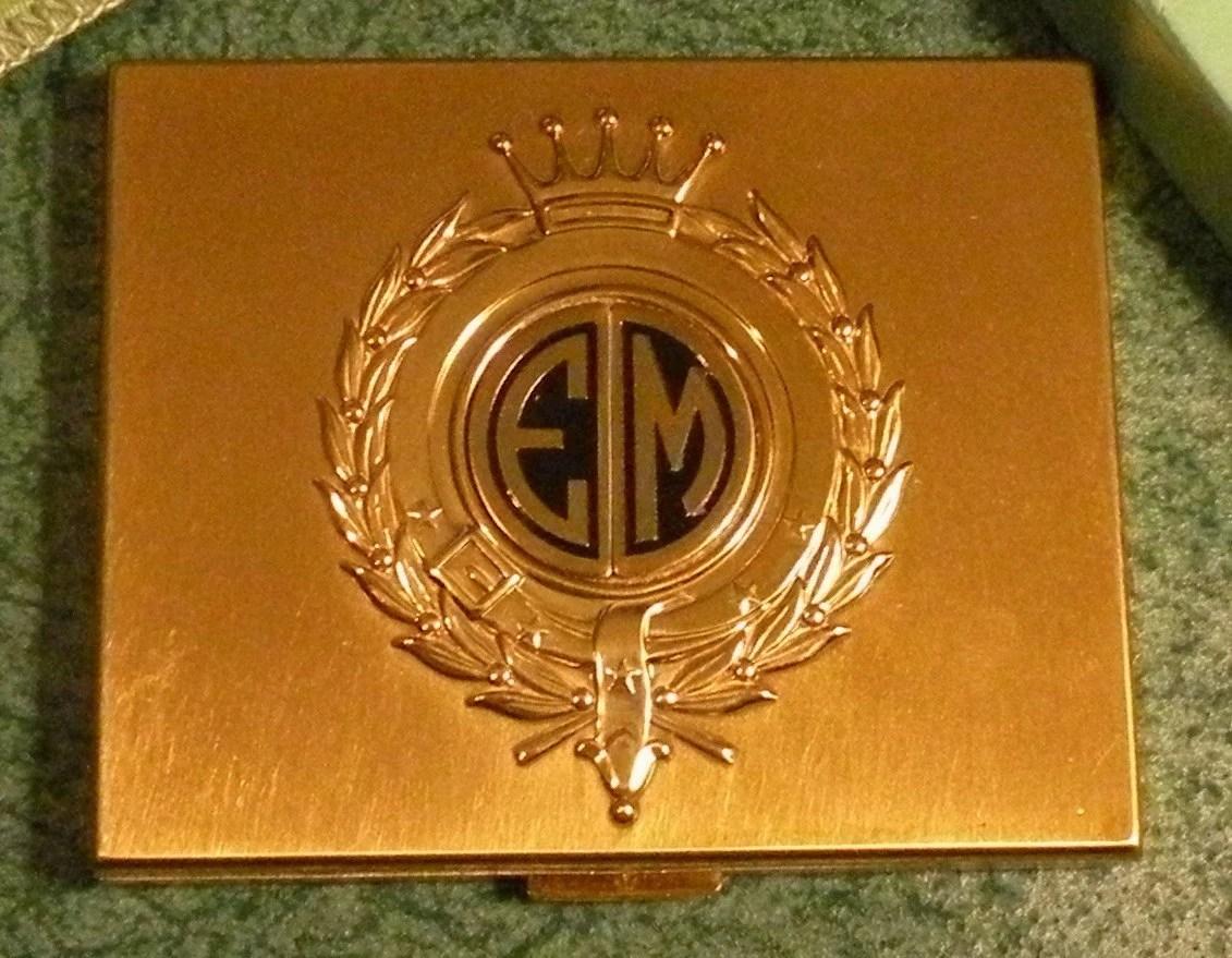 Vintage Elgin AMerican Powder Compact Mirror Elgin American