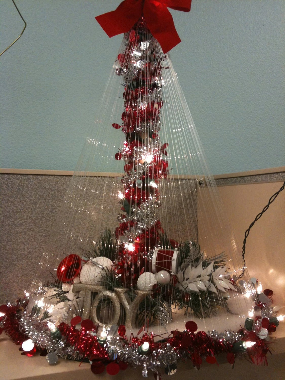 Items Similar To Fishing Line Christmas Tree On Etsy