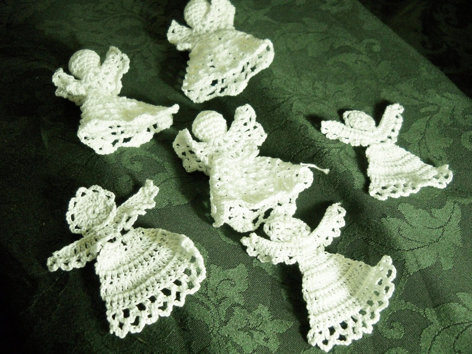 Vintage Crochet Angels for Crafts - AuntMegheysCottage