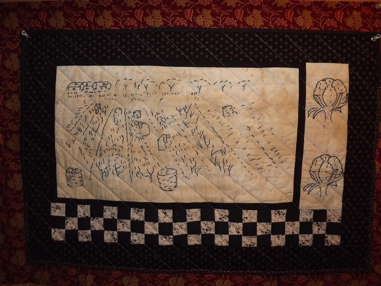 Civil War Stitchery Quilt Pattern Pickin Cotton