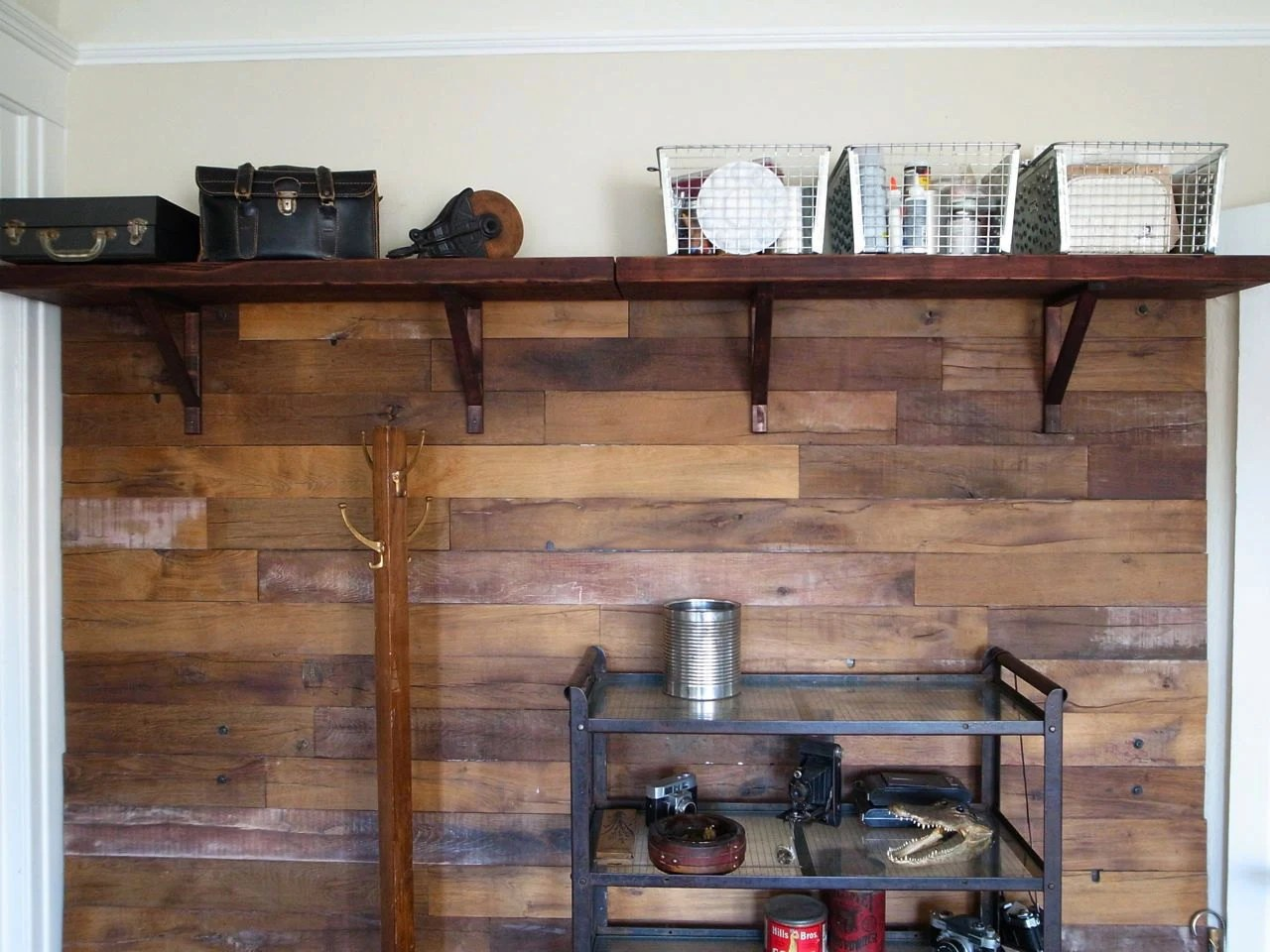 2 Reclaimed Shelves