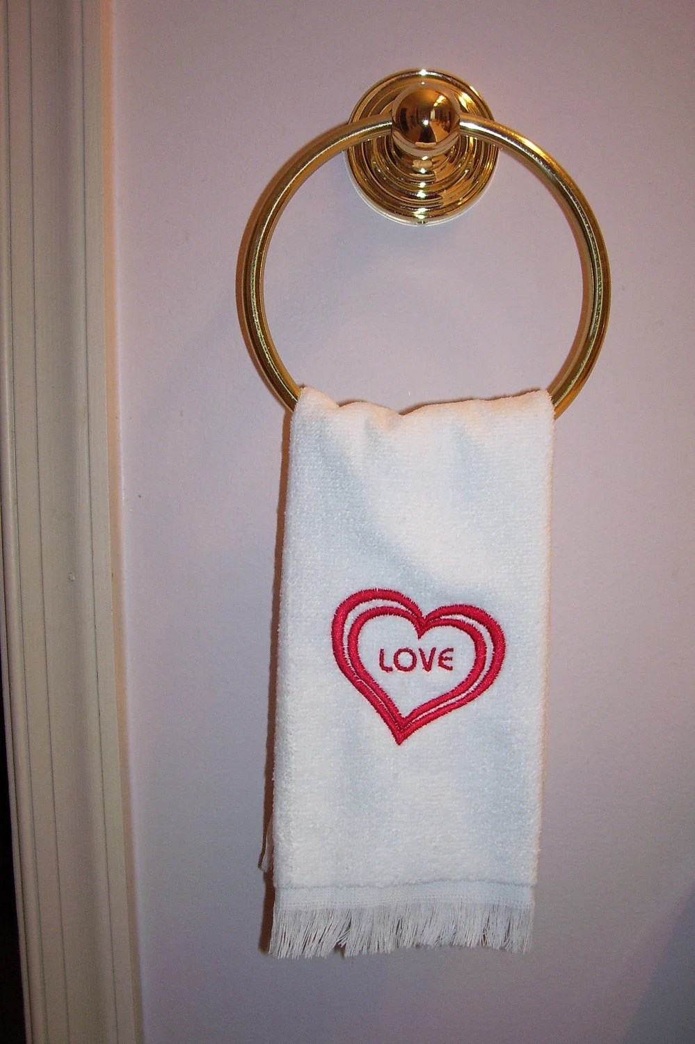 Finger Tip Towels With Fringe Sale Assorted Holiday Themed