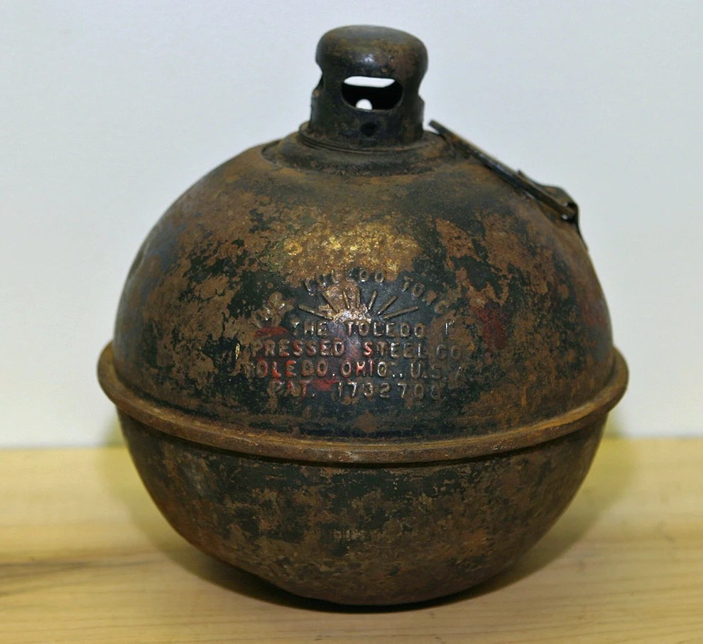 Early Vintage SMUDGE POT Road Torch Or A Traffic Lantern