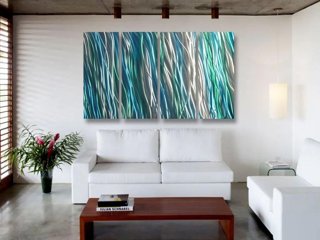 Metal Art Wall Art Decor Abstract Contemporary Aluminum Modern