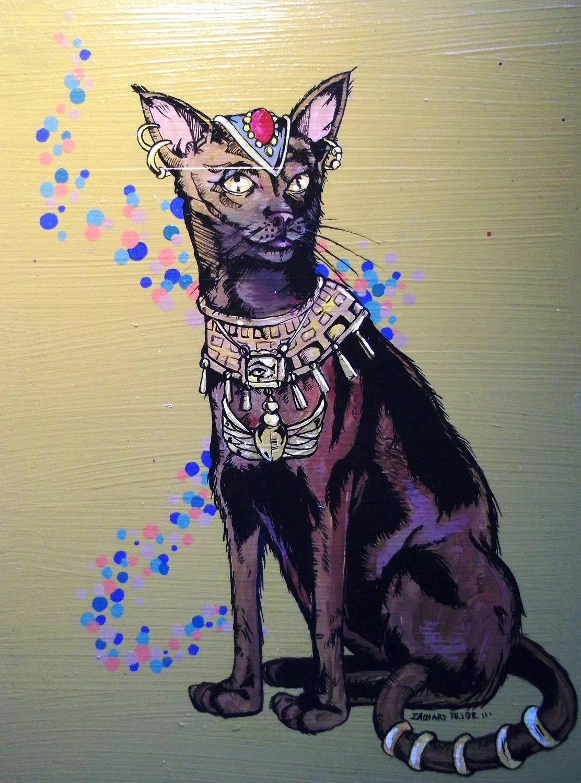 Cat Goddess Jb
