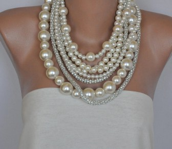 Image result for Pearl Necklaces