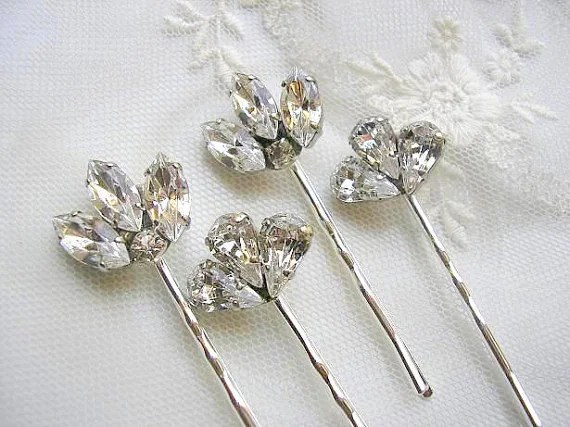 Items Similar To Bridal Hair Pins Wedding Hair