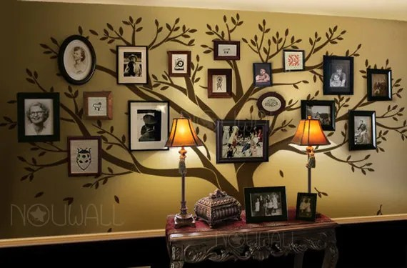 Wall Decal Tree Wall Decals Wall Stickers Photo Frame By