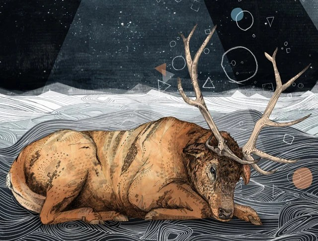 The Unsleeping Dream by sandra Dieckmann via Etsy