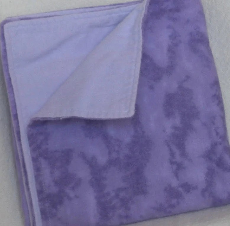 Purple Flannel Blanket
