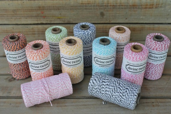 Divine Twine- Baker's Twine in 11 colors