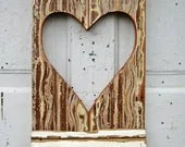 Barn Red Wall Heart Repurposed Wood Art - woodenaht