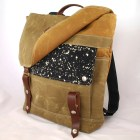 Galaxy Waxed Canvas Backpack - WoolyBison