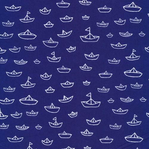 The Fleet Navy from Seven Seas - Cloud9 Organic fabrics