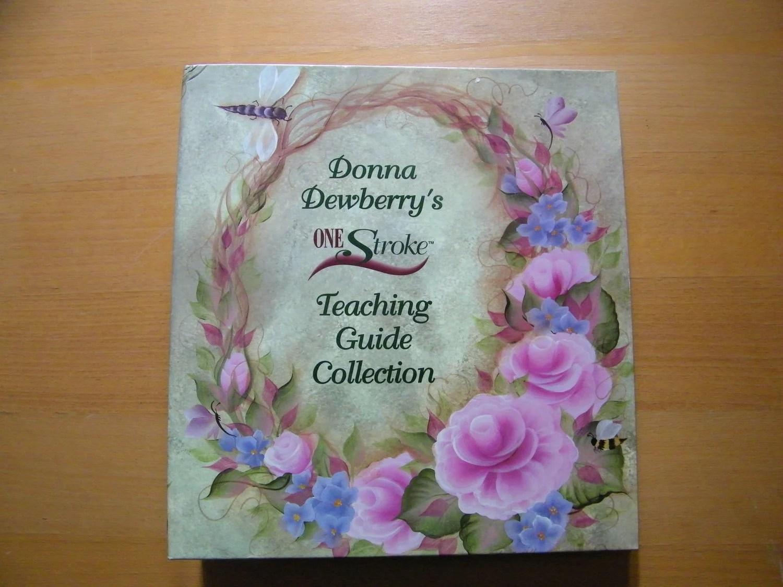 Donna Dewberrys One Stroke Teaching Guide Collection Folk Art