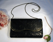 Vintage 1960s Black Alume...