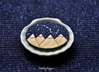 "Wood Laser cut Brooch starry sky with the constellation ""Ursa Major"" - TheTwentyFingers"