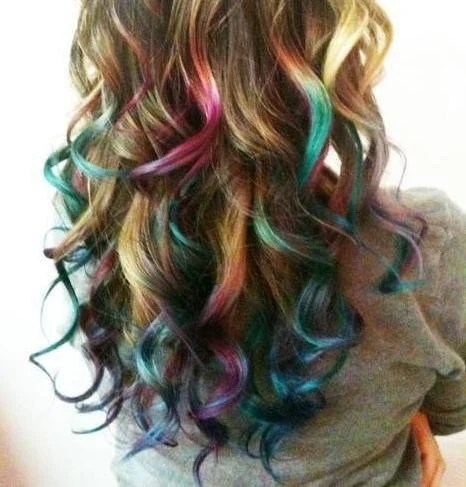 items similar to temporary hair color chalk diy at home pick a color on etsy