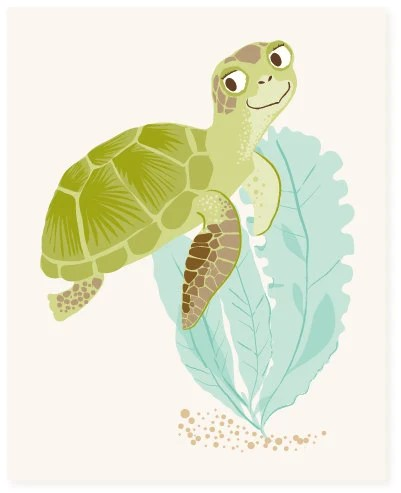sea turtle - art print - SeaUrchinStudio