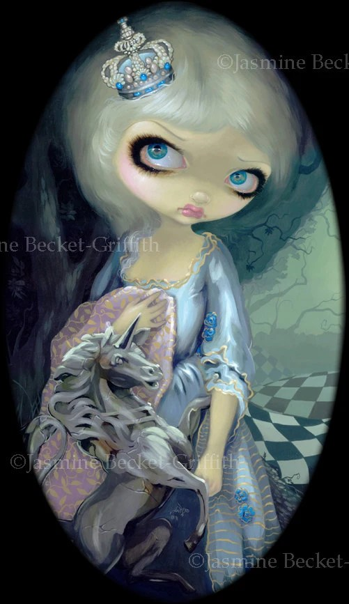 Items Similar To White Queen Alice Through The Looking