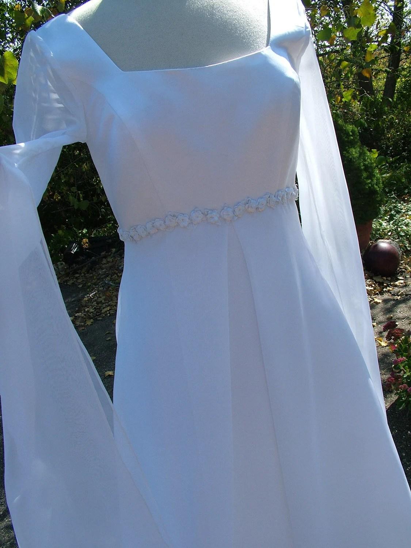 Camelot Wedding Dress Vintage 90s Renaissance Bridal Gown