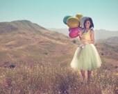 Soft mint  green tulle tutu skirt.  Tulle lined tea length skirt. - TutusChicBoutique