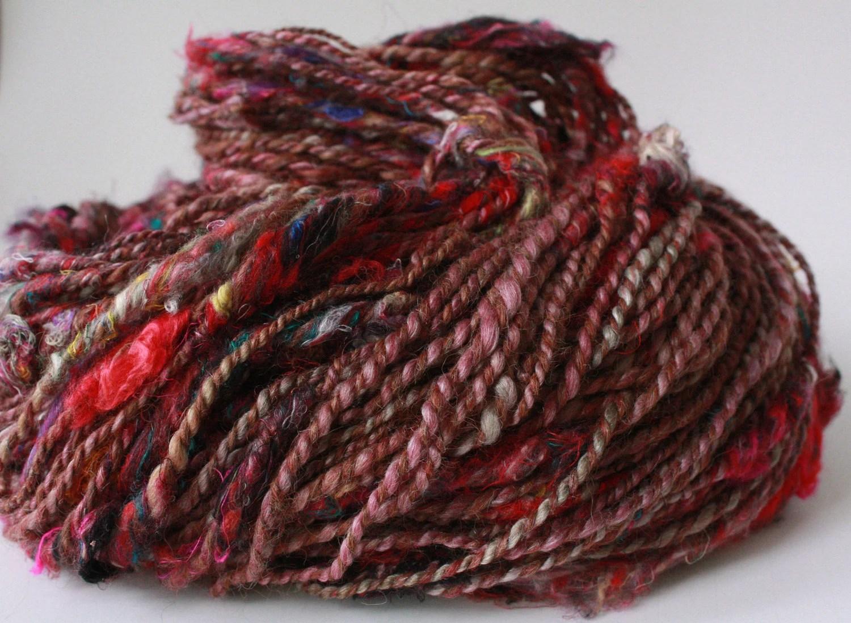 Red Dawn - Alpaca/Silk Art Yarn