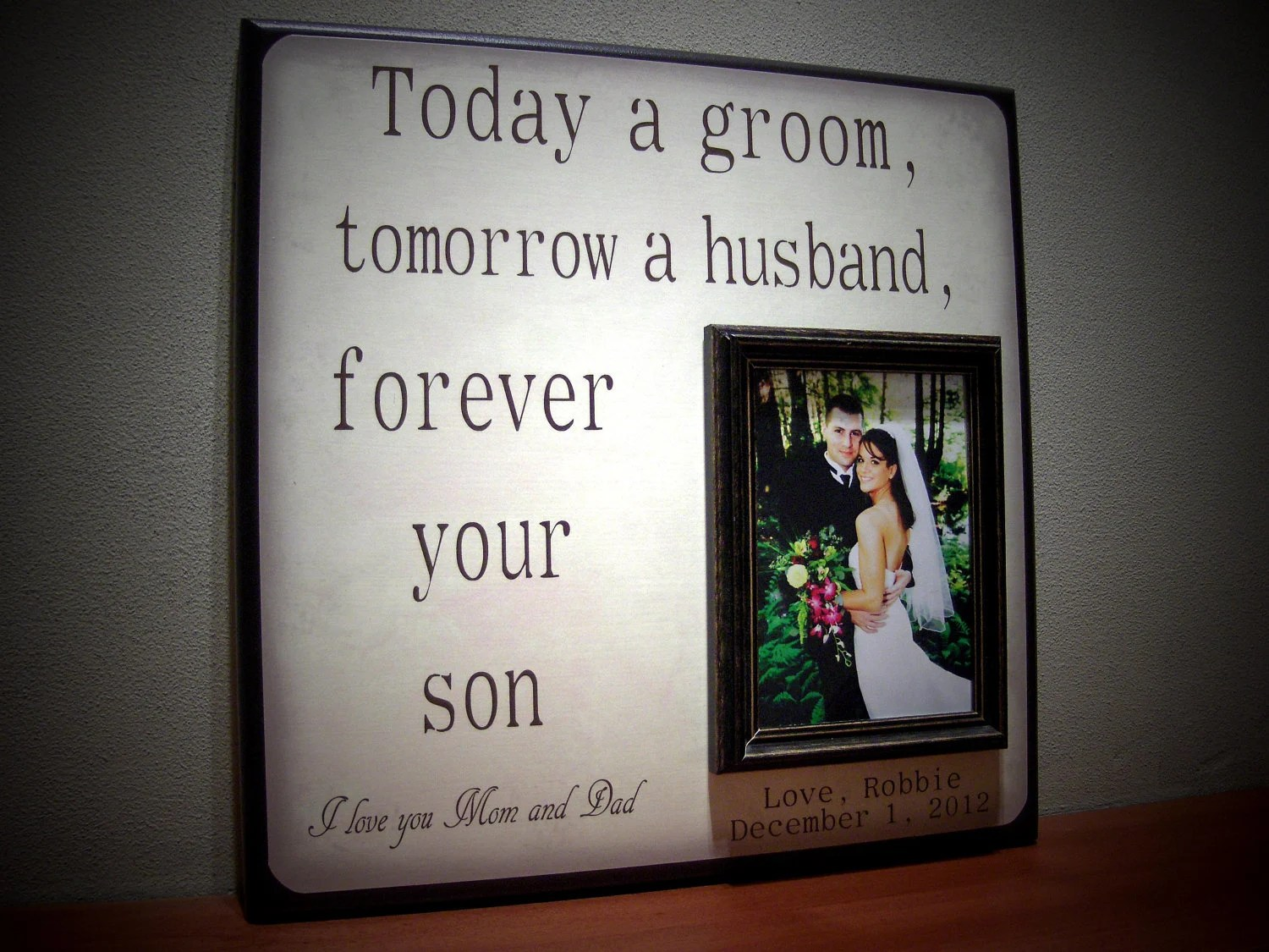 Mother Of The Groom Gift Father Of The Groom By