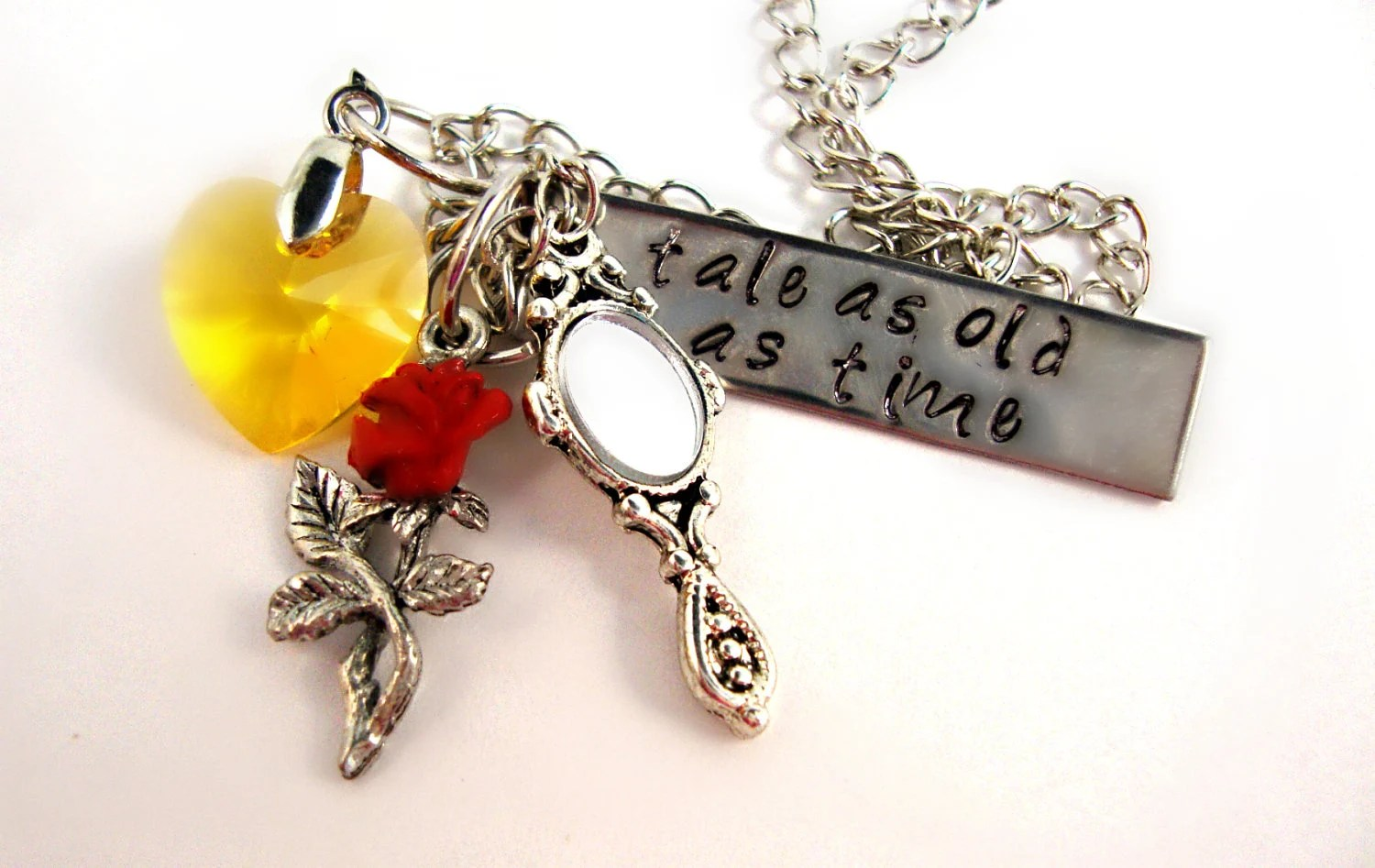 Belle Necklace by AnimeCoutureJewelry