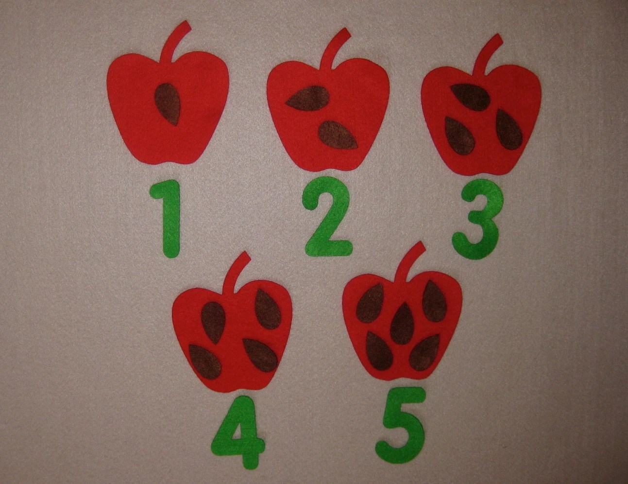 Counting Apple Worksheet