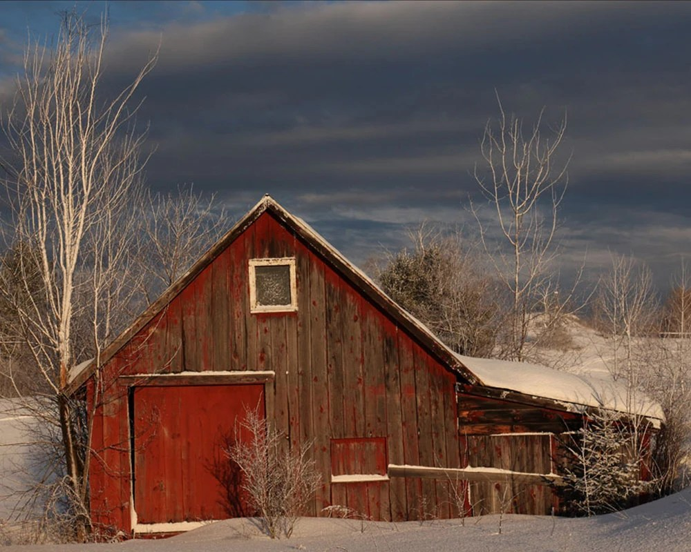 Items Similar To Old Barn Photography Red Barn Photo