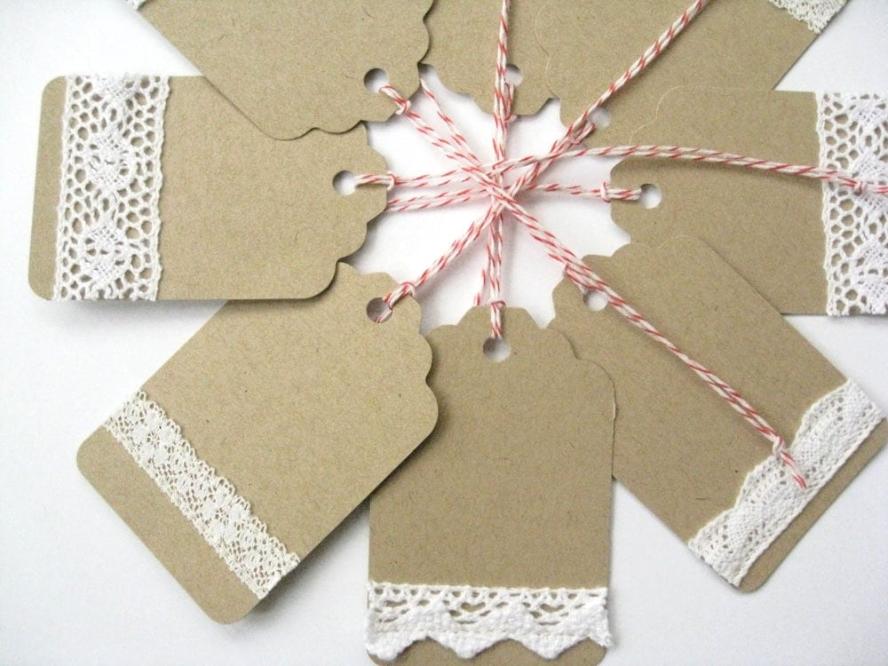 Items Similar To 8 Handmade Gift Tags