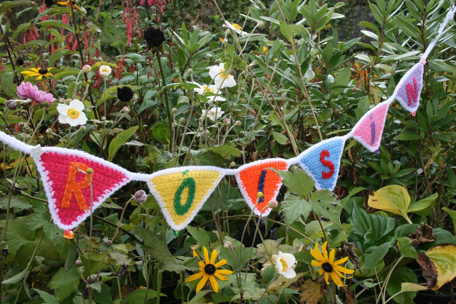Personalised Crochet Bunting