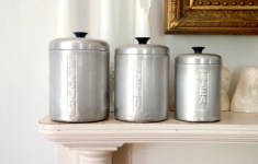 17 Unique Metal Kitchen Canisters That Will Give You The Much Needed Motivation