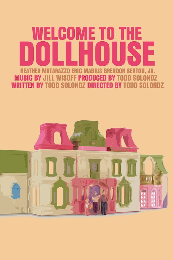 Welcome To The Dollhouse Movie Poster (Paper or Plexiglas or Canvas)