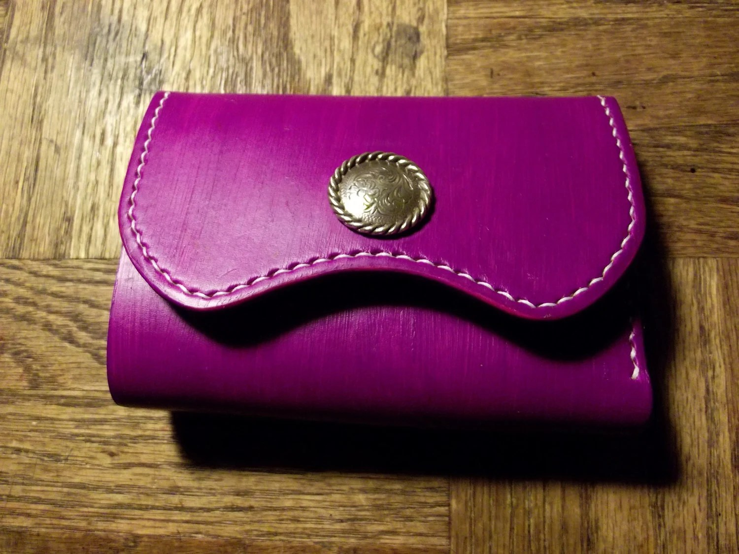 Women's Leather Mini Purse / Wallet