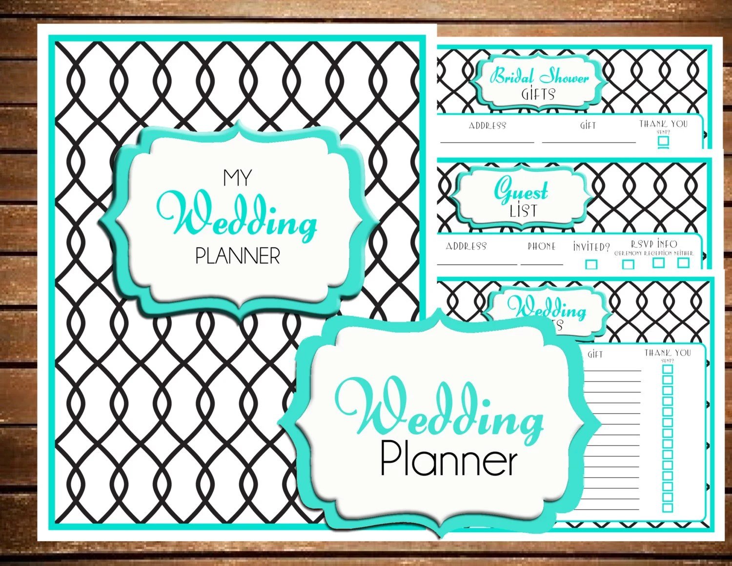 Wedding Planner Wedding Binder Wedding Planner Book Wedding